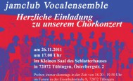 Chorkonzert - jamclub Vocalensemble