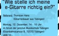 Montag 12.12. Workshop -