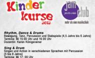 Kinderkurse 2012 im jamclub