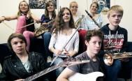 jamclub bigband spielt zur Eröffnung der Kinder- und Jugendbuchwoche