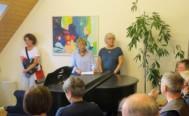 Aktuelle Ausstellung ´Tritonus´ in der jamclub Musikschule