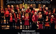 Winterkonzert des jamclub Vokalensembles am 24. November