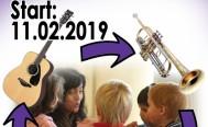 Musikreise: Instrumente kennenlernen - Start am Montag 11. Februar 2019