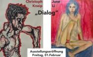 Dialog - neue Kunstausstellung im jamclub