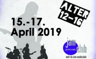 Bandworkshop 15. bis 17. April 2019