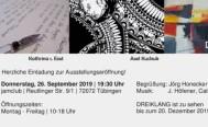 Ausstellung DREIKLANG in der jamclub Musikschule