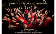 Winterkonzert des jamclub Vokalensembles am 23. November