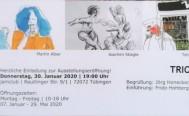 Neue Kunstausstellung in der jamclub Musikschule