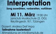 Abendseminar Interpretation am Mittwoch 11. März