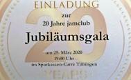 20 Jahre jamclub Musikschule - Jubiläumsgala wird verschoben.