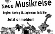 Musikreise: Instrumente kennenlernen - Start am Montag 21. September 2020