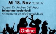 Abendseminar für Vokalisten Mittwoch, 18. November
