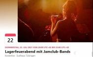 Lagerfeuerabend mit jamclub Bands